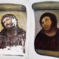 Botched restoration of Christ fresco still pulling in the money