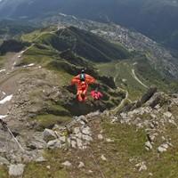 Wingsuit flier dies in Swiss Alps after jumping from 10,000 feet