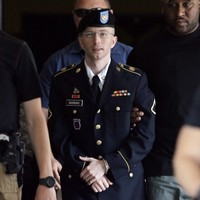 Bradley Manning takes to stand apologising for hurting US