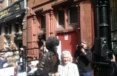 Phil Lynott statue is back where it belongs