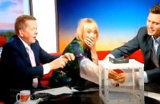 BBC Breakfast presenter accidentally releases mosquitoes into studio