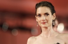 "Winona Ryder ""saddened"" at having to cancel Irish festival appearance"