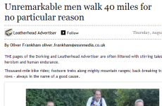 This is the most honest local newspaper article ever