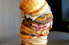 This burger contains 9,000 calories