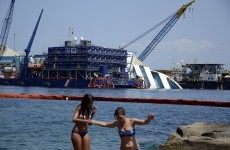 Italy Cruise Ship Wreck To Be Raised In September 183 Thejournal Ie