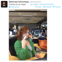 Tweet Sweeper: Which YouTube hit is Bláthnaid Ní Chofaigh referring to?
