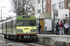 DART services resume after woman was struck by train