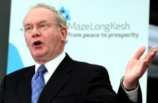Martin McGuinness: The past few weeks have not been good for Northern Ireland