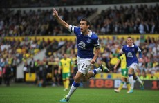 VIDEO: Seamus Coleman scores one and sets up another as Everton earn point