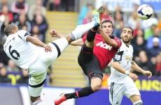 Robin van Persie brace inspires United to victory over Swansea