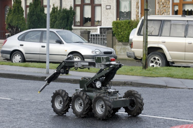 Army bomb squad equipment (File photo)