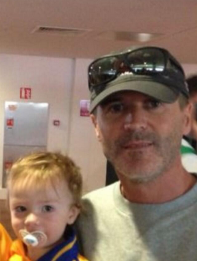 Roy Keane is at Croke Park today (possibly on a scouting mission)