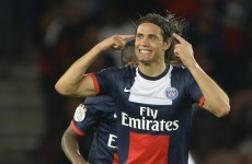 Edison Cavani shows why PSG splashed out €64m on him