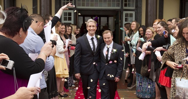 Joy and celebration as New Zealand celebrates first same-sex weddings