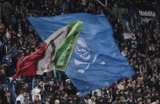 Lazio fans banned over racist chanting
