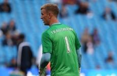 Joe Hart pays jersey tribute to late goalkeeper Bert Trautmann