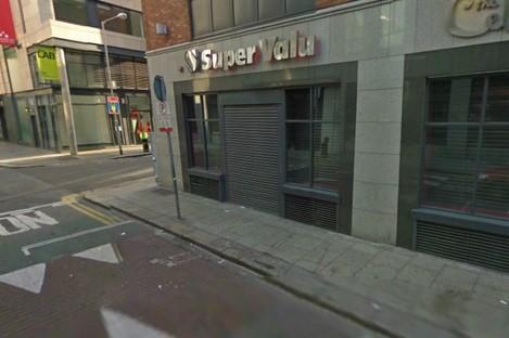 The Supervalu shop on Talbot Street, Dublin.
