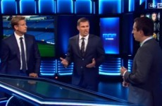 Gary Neville and Jamie Carragher had a brilliant exchange last night
