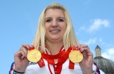 Adlington distraught over stolen Olympic gold... for 45 minutes before she found them again