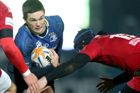 Eoin O'Malley featured five times for Leinster last season.