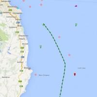 Cargo ship runs aground off Dublin coast