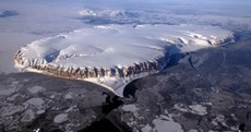 Aircraft-mounted cameras capture stunning views of polar regions