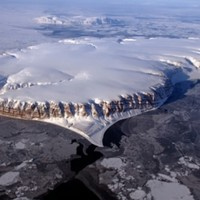 Aircraft-mounted cameras capture stunning views of polar regions
