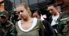 PICS: Michaella and Melissa arrive in Peruvian court over drug trafficking charges