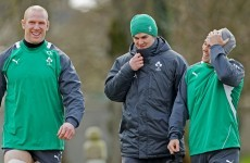 'O'Malley was about to be great, an heir to Brian O'Driscoll's number 13 jersey'