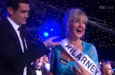 Did you see the Rose of Tralee sash typo?