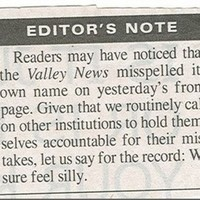 12 unintentionally hilarious items from the 'corrections' column