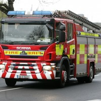 Firefighters tackle blaze at storage factory in Waterford