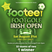 Here's your chance to compete in the first-ever Footee Irish Open