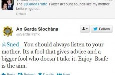 The Garda Traffic account is at it again