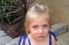 Little girl loses her lizard 'best friend', appeals to internet for help