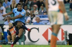 Kurtley Beale back in blue with NSW Waratahs