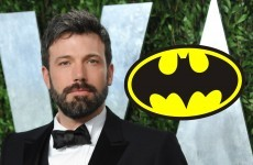 Ben Affleck is the new Batman!