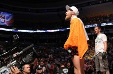 Irish UFC star Conor McGregor to miss up to 10 months with cruciate knee tear