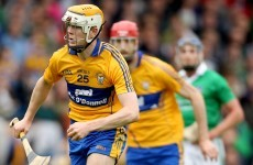 Cunningham in race to be fit for Clare's All-Ireland hurling final clashes
