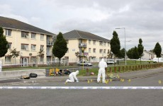 Update: Three men seen running from car linked to Dublin shooting