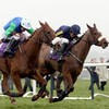 The Winners' Enclosure: Irish raiders flaunt their six appeal