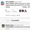 The Bolton Twitter account got itself into a spot of bother yesterday