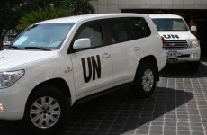 UN chemical inspectors shot at in Syria