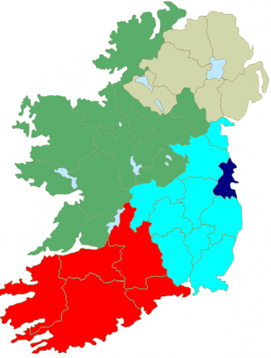 Revealed: Fine Gael's proposals for redrawing Ireland's European constituency map