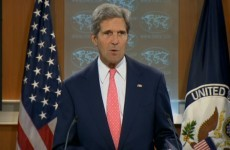 "John Kerry warns Syria of ""consequences"" for using chemical weapons"