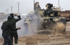 Libyan rebels struggle to hold off Gaddafi's forces