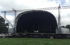 Here's a sneak peek at the Electric Picnic site!