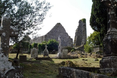 Drumcliffe Cemetery is on the outskirts of Ennis