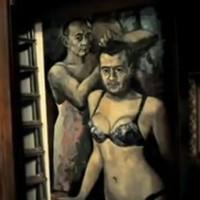 Police seize 'Putin in women's underwear' painting