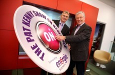 The Pat Kenny Show on Newstalk just landed itself a sponsor...